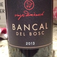 Tasting Bancal del Bosc 2013 red. #Spain #wine #catalunya