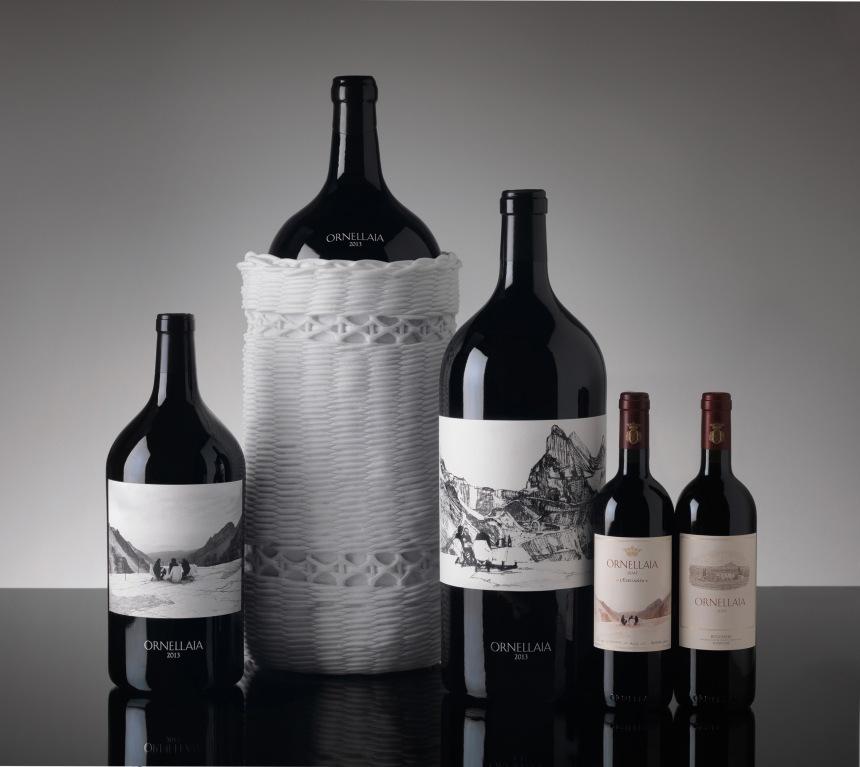 Ornellaia 2013 L%27Eleganza_bottles