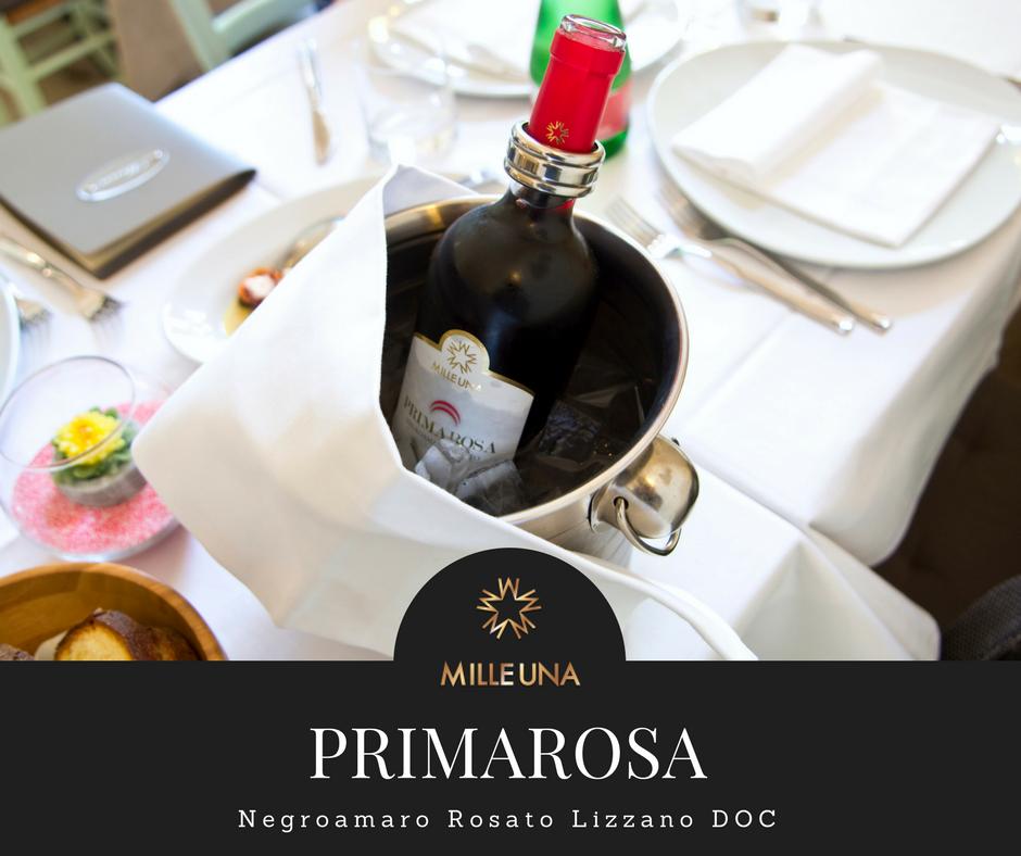 Primarosa, Negroamaro Rosato Lizzano DOC Milleuna winery