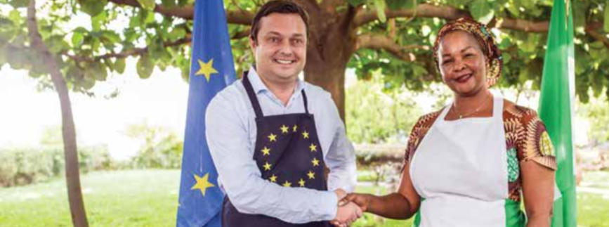 Africa-Europe cookbook: the ultimate diplomatic tool to bring two continents to the table