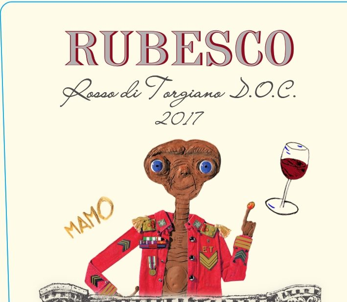 Lungarotti wine: Rubesco 2017 limited edition by Mamo