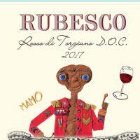 Lungarotti wine: Rubesco 2017 limited edition by Mamo