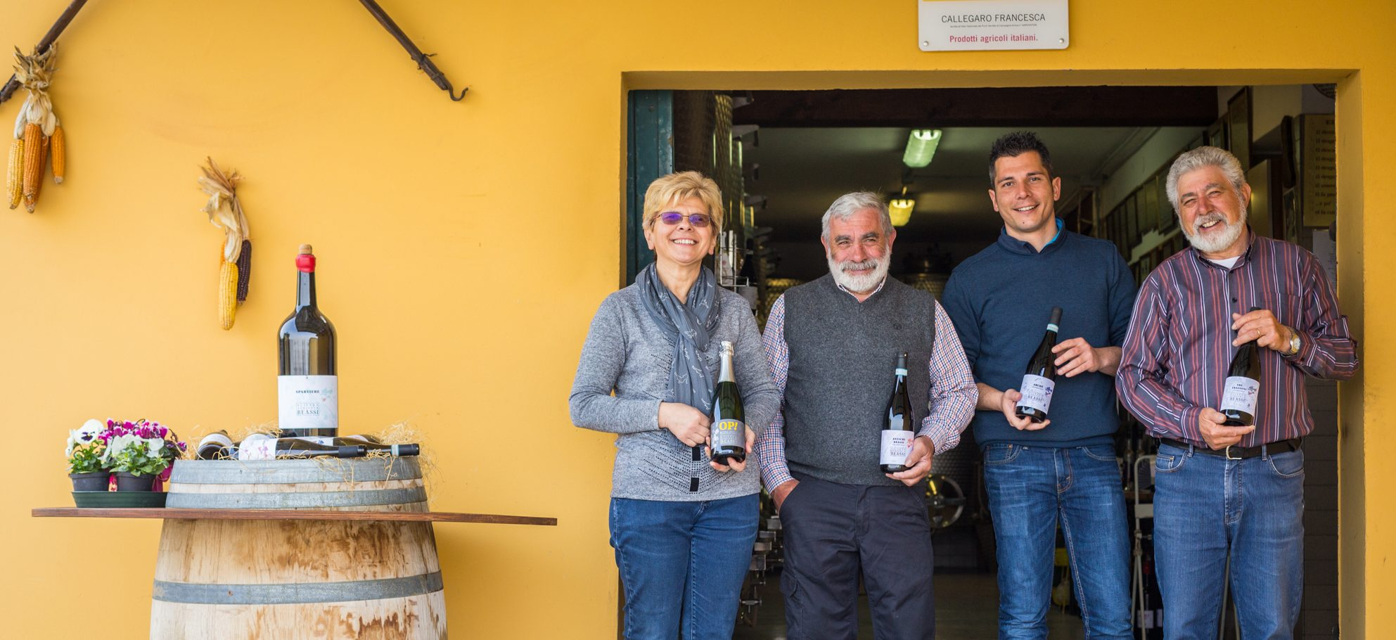From Volcanic hills, Reassi wines