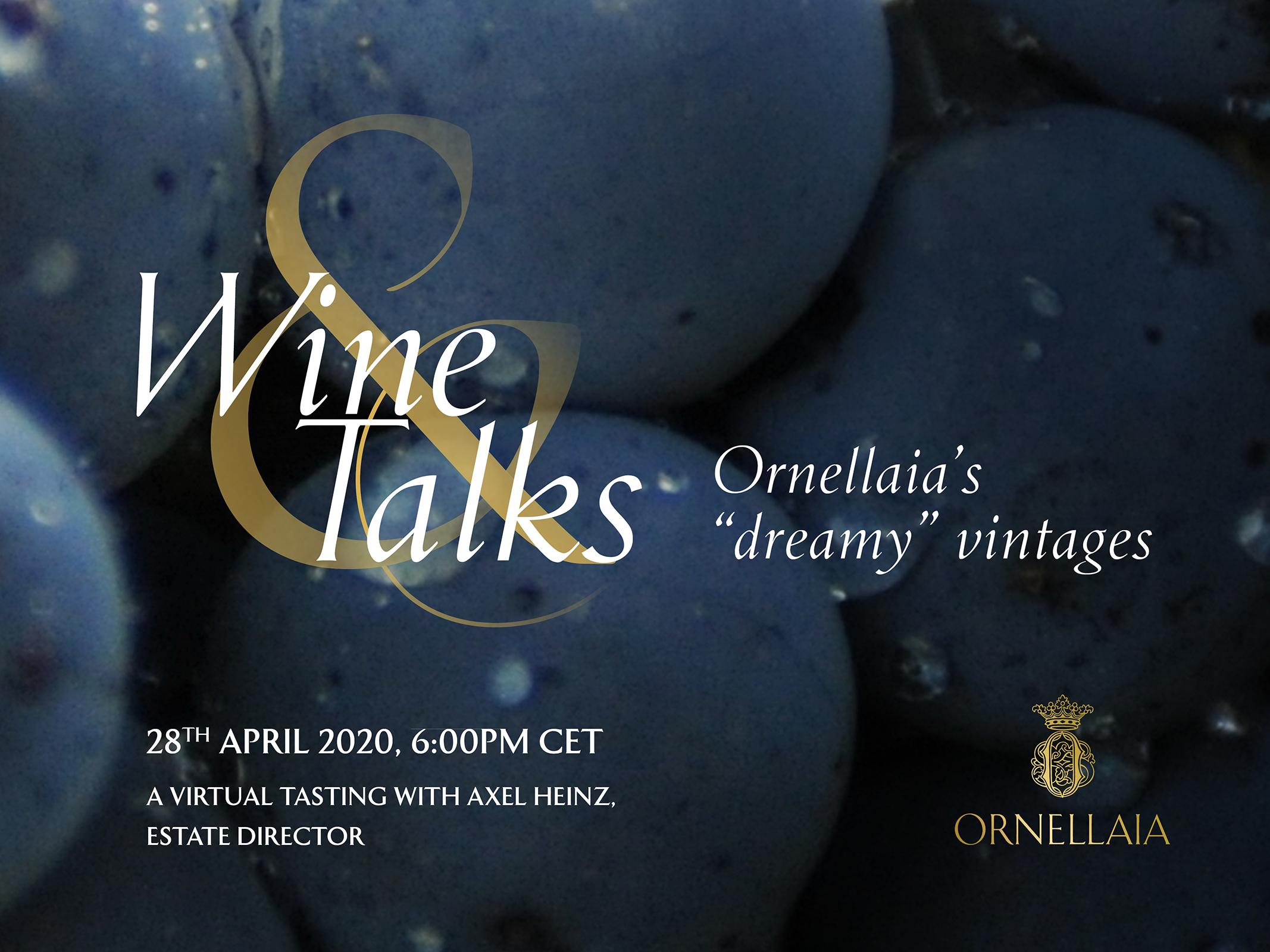 Ornellaia Wine & Talks