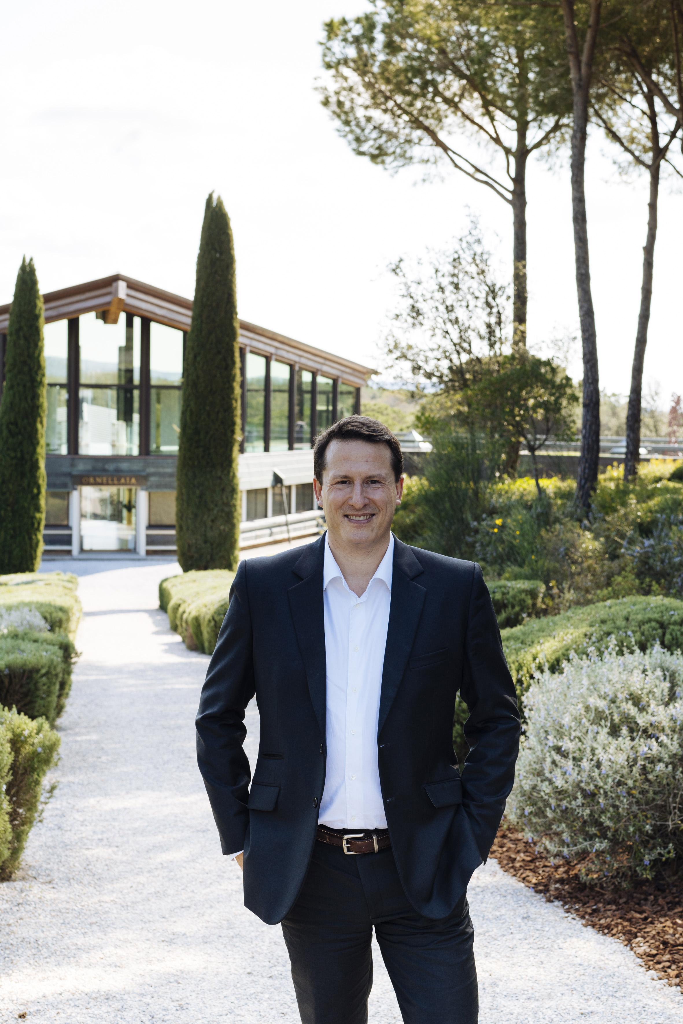 Ornellaia & Masseto CEO Giovanni Geddes da Filicaja announces a new Sales and Marketing Director